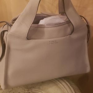 Vince Camuto Purse. Beautiful Gray color.